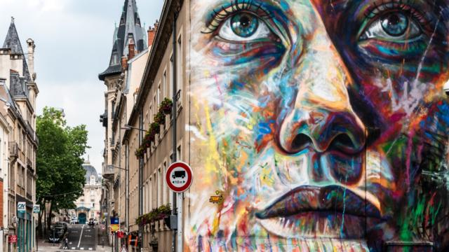 Art dans Nancy - David Walker Giulia