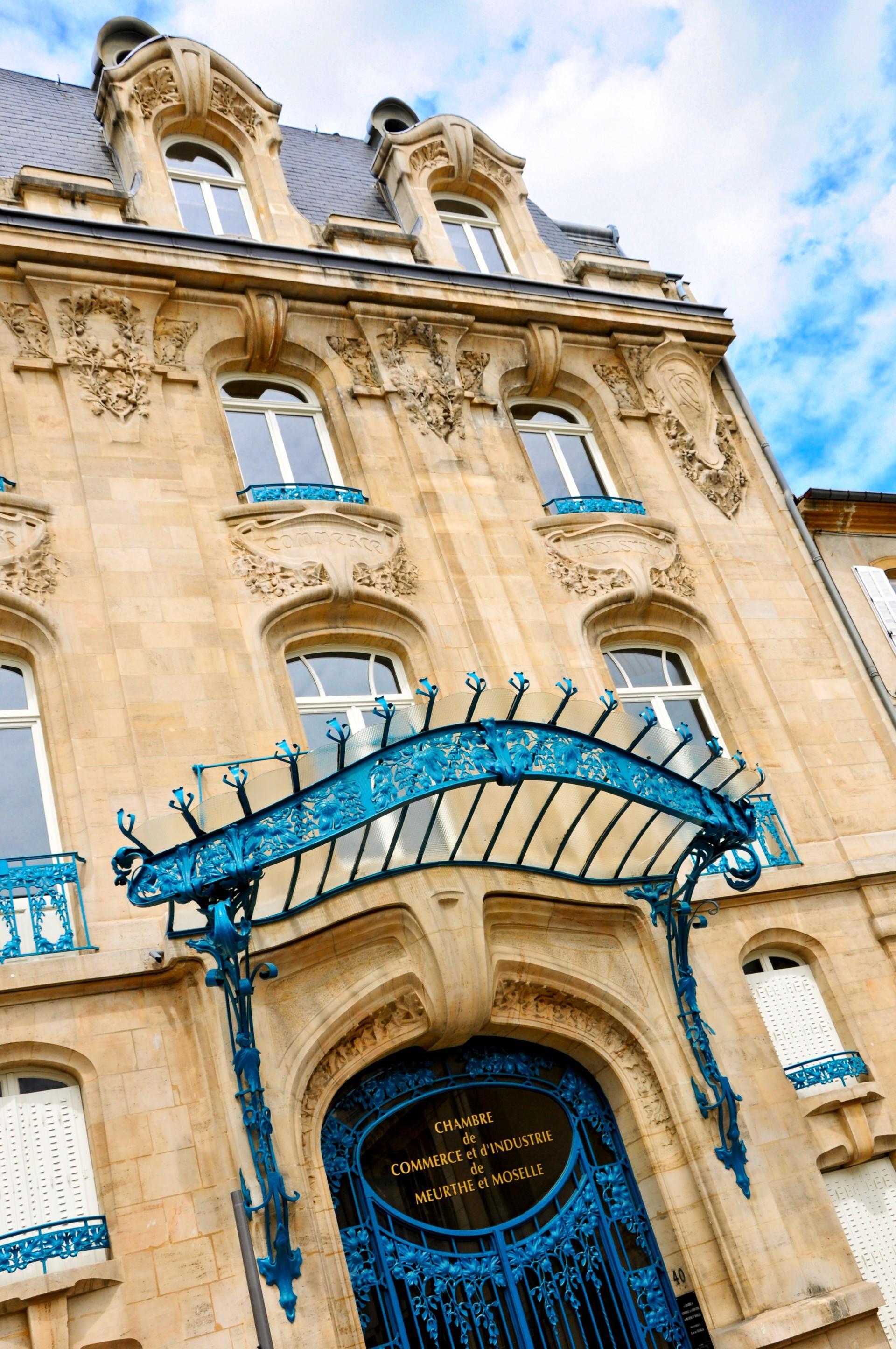 Jugendstil-Architektur | Nancy Tourisme