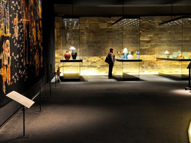 Collection Daum - Vitrines Salle 2