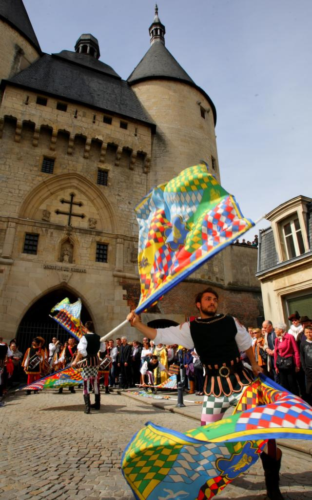 Inauguration Porte De La Craffe
