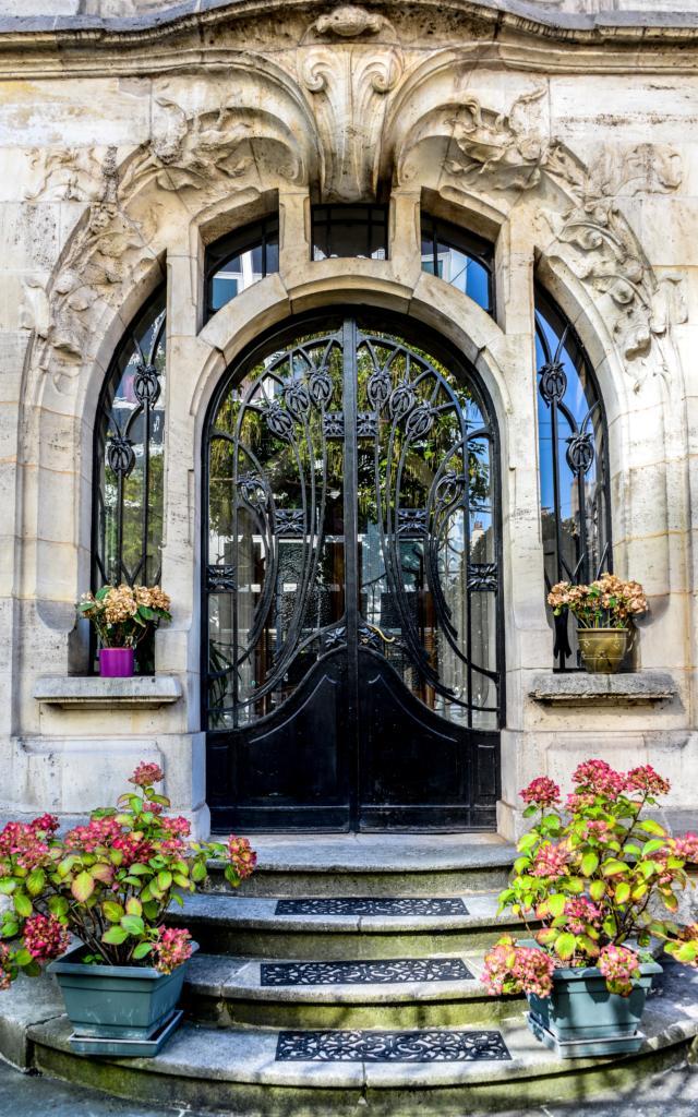Art Nouveau - Avenue Foch - Maison Dct P.Jacques