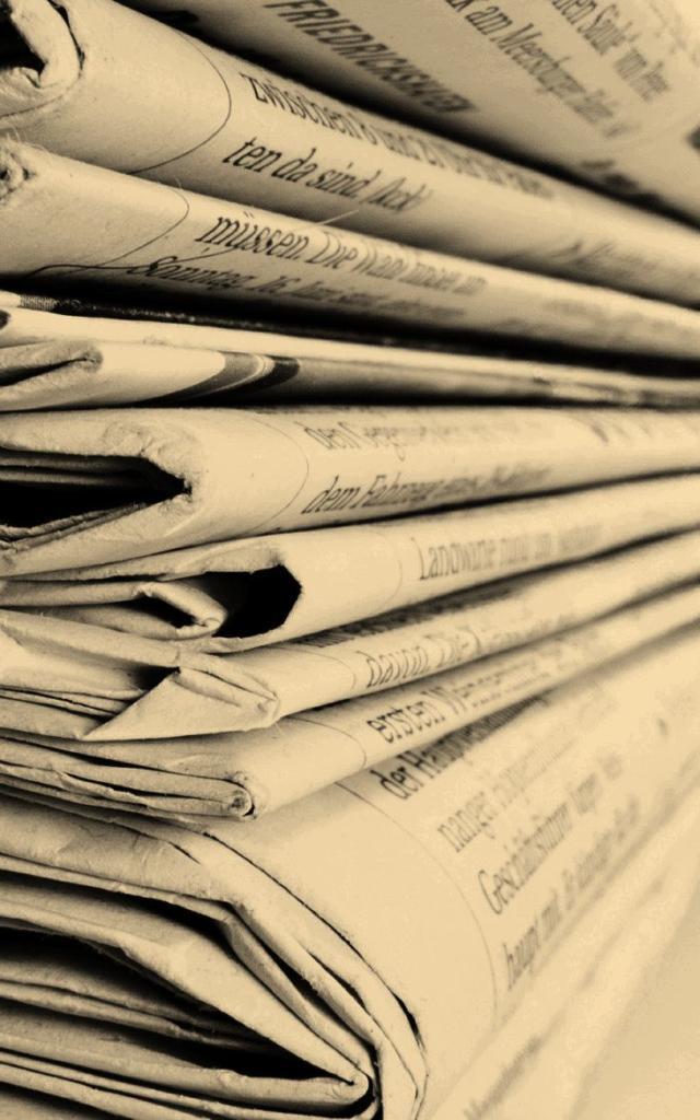 Newspaper-sepia