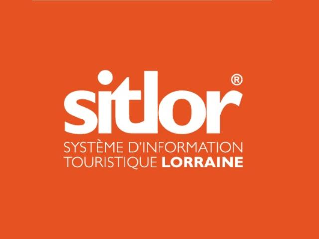 Logo Sitlor H Couleur Fond Orange
