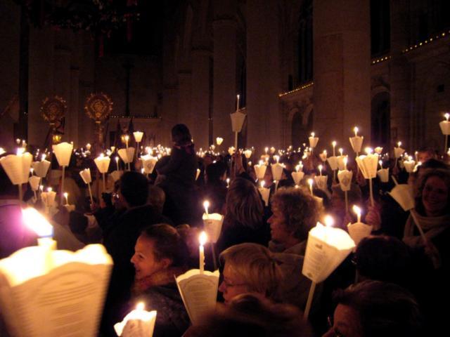 Procession aux flambeaux - Saint Nicolas de Port