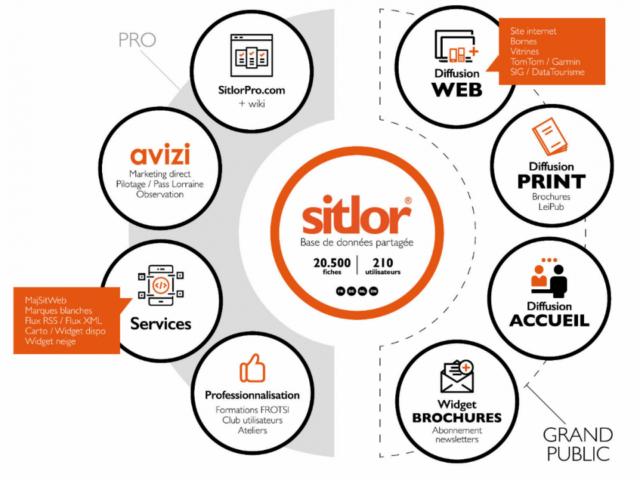 Schema de l'écosysteme Sitlor