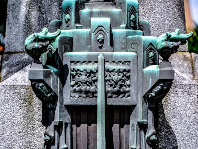 Monument Aux Morts Croix De Guerre - Tomblaine