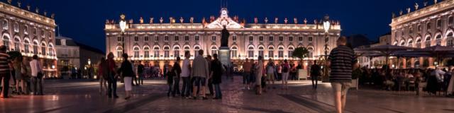 Place Stanislas - Hotel De Ville de nuit