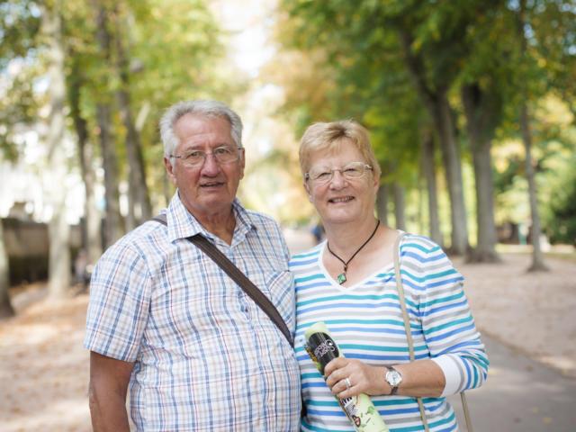 Françoise et Jean-Noël - Greeters de Nancy