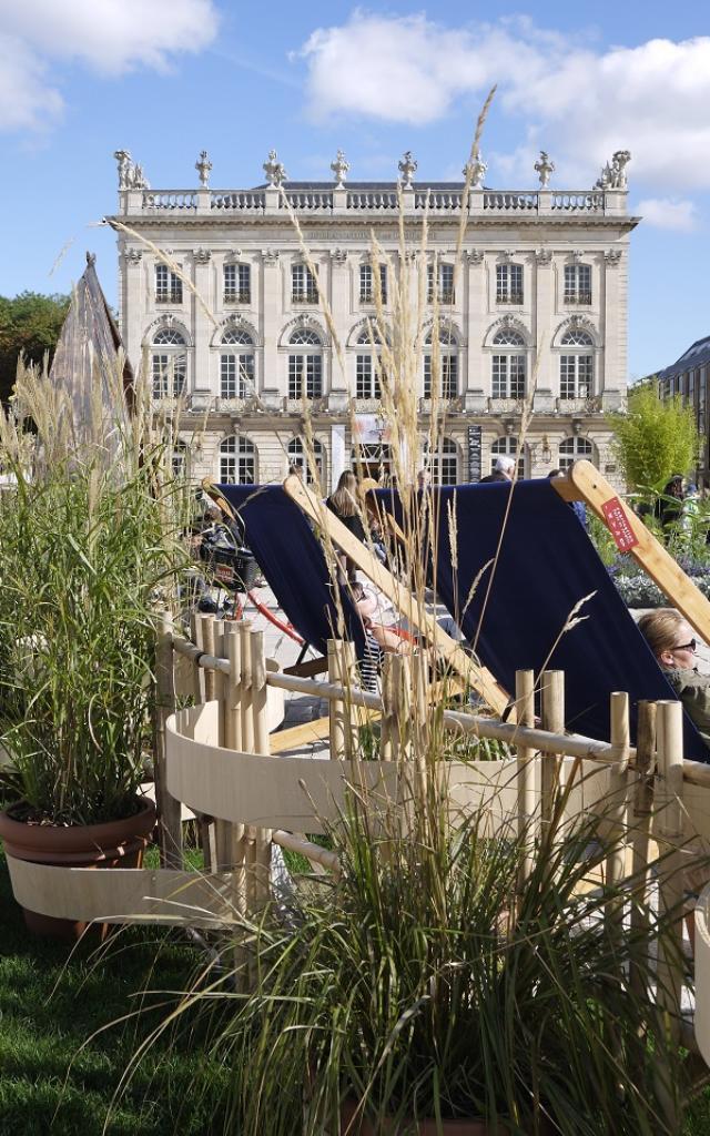 Chaise longue Jardin Ephémère 2019