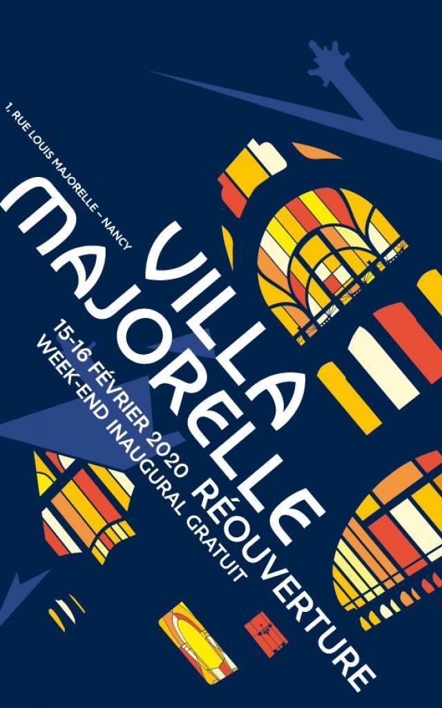 Affiche Reouverture Villa Majorelle Dp