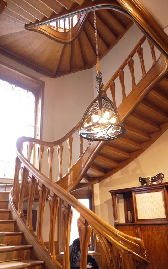 Villa Majorelle - escalier