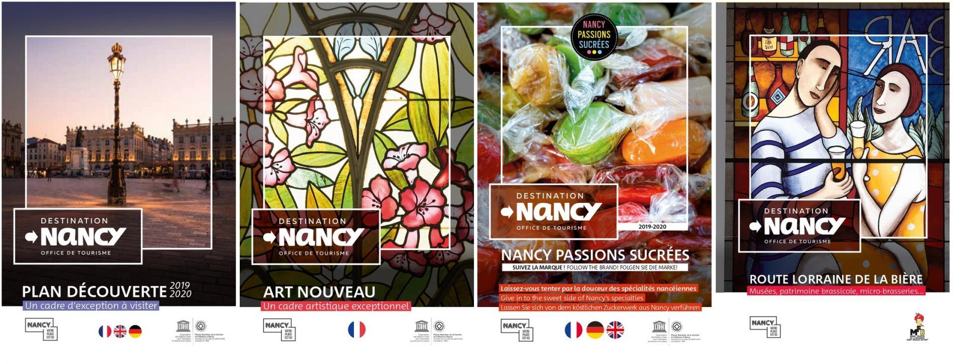Brochures Destination Nancy